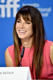 Sandra Bullock - Our Brand is Crisis Press Conference in Toronto, TIFF 2015