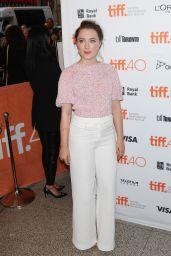 Saoirse Ronan - Brooklyn Premiere at Toronto International Film Festival