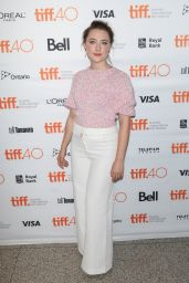 Saoirse Ronan - Brooklyn Premiere at Toronto International Film Festival