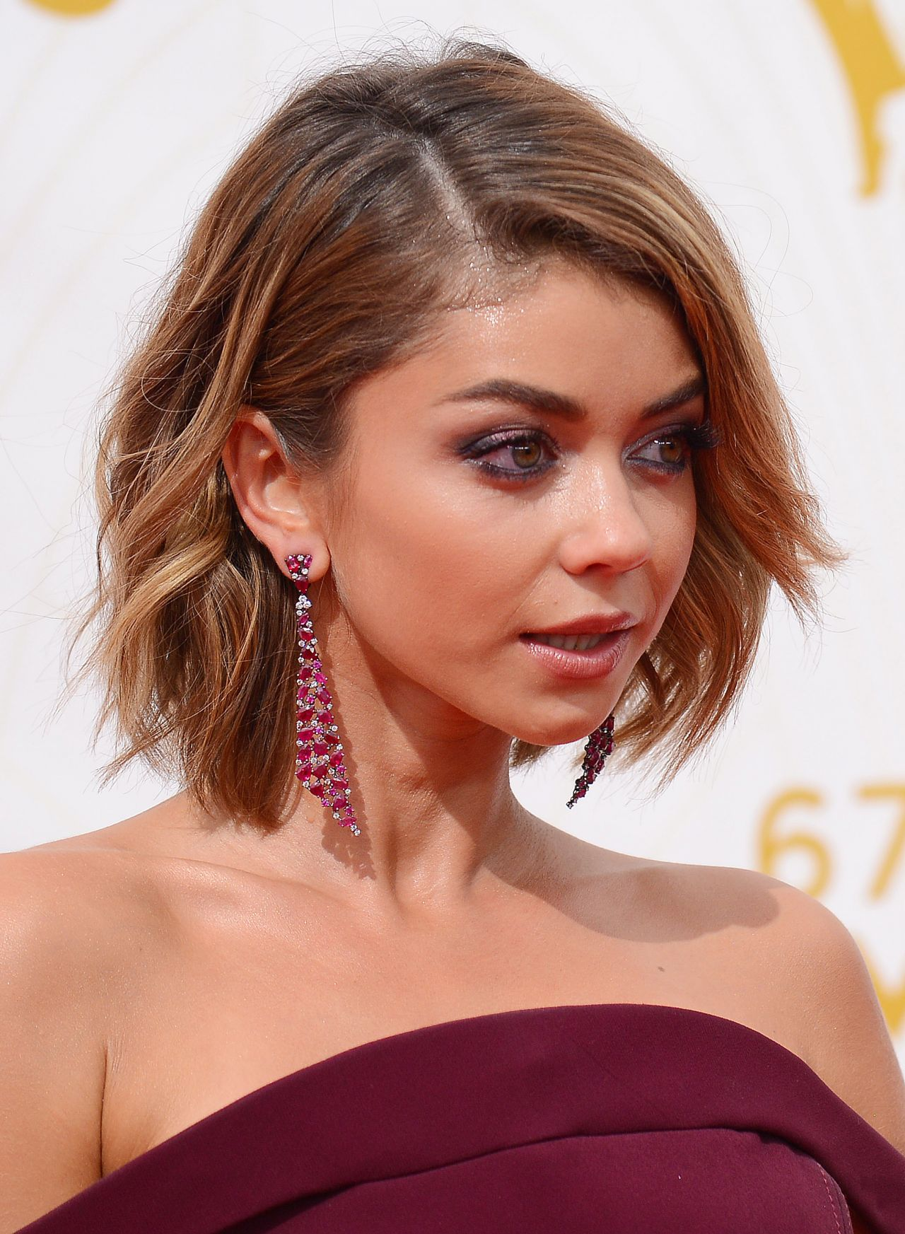 Sarah Hyland 2015 Primetime Emmy Awards In Los Angeles
