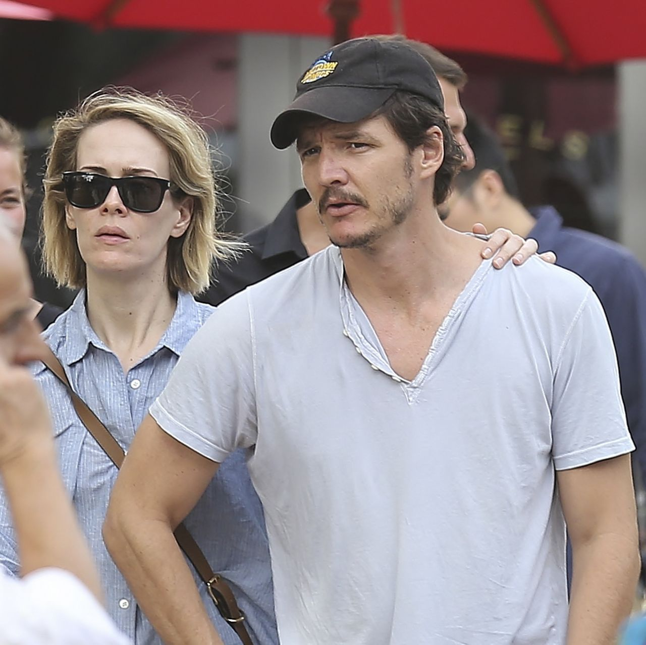 Sarah Paulson and Boyfriend Actor Pedro Pascal - Out in