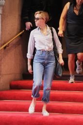 Scarlett Johansson in Jeans - Out in NYC, September 2015