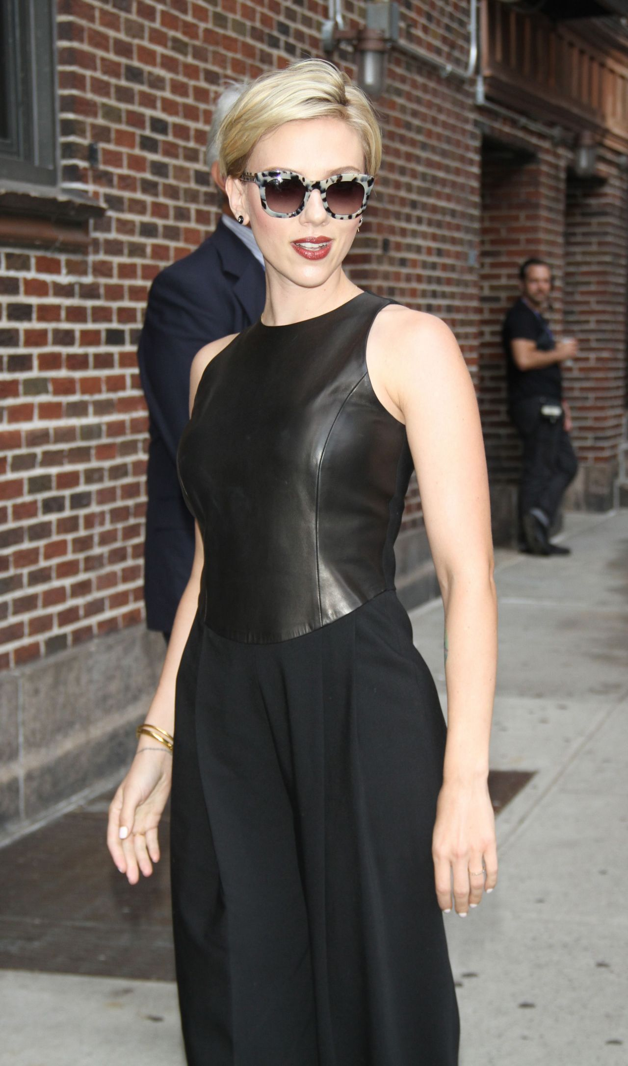 Scarlett Johansson Style The Late Show With Stephen