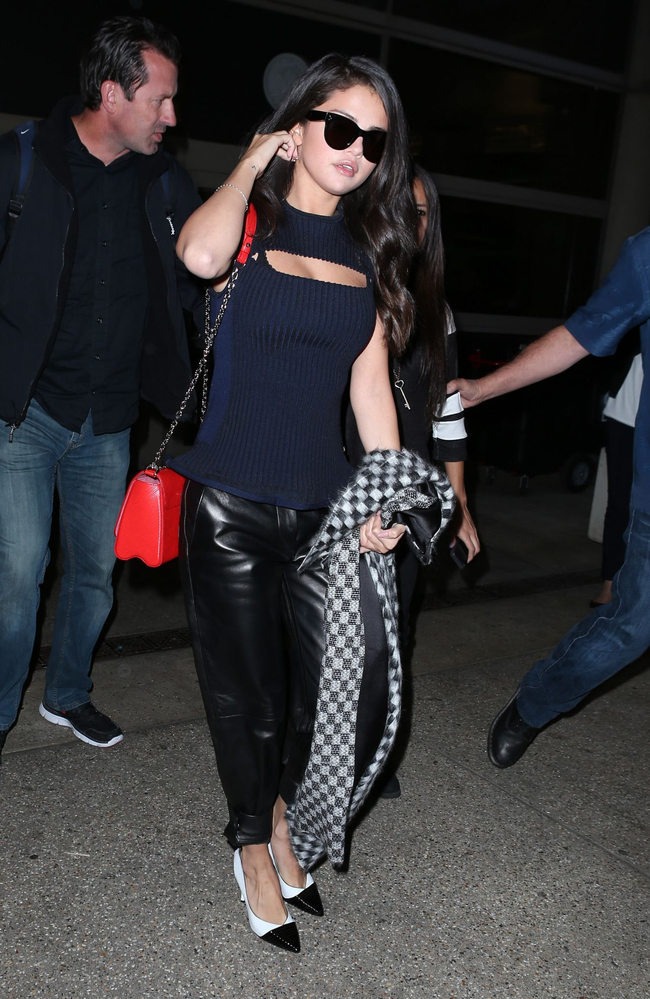 Arriving At LAX Airport In Los Angeles