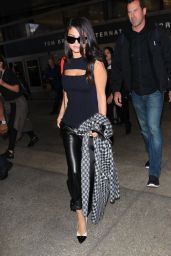 Selena Gomez - Arriving at LAX Airport in Los Angeles, September 2015