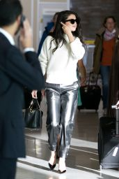 Selena Gomez at Charles-de-Gaulle Airport in Paris, September 2015