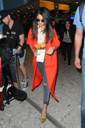 Selena Gomez at Heathrow Airport in London, September 2015