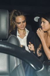 Selena Gomez & Cara Delevingne - Out in London, September 2015