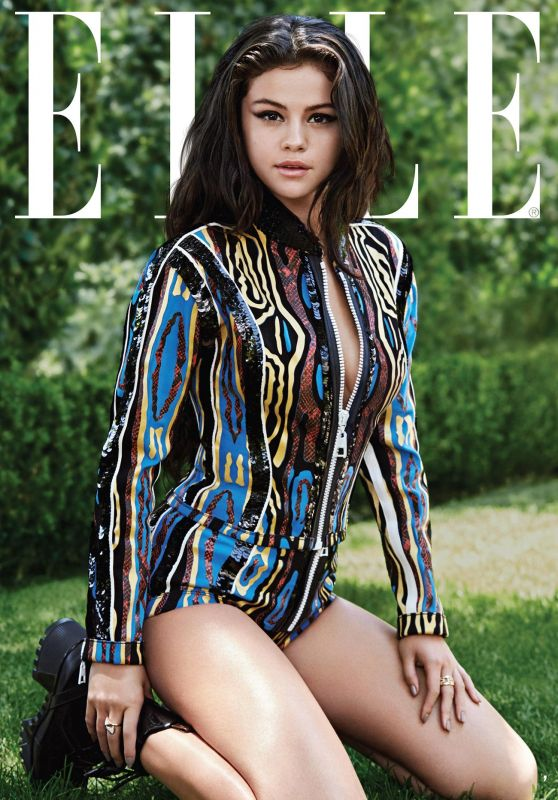 Selena Gomez - ELLE Magazine (US) October 2015