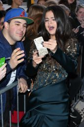 Selena Gomez Fashion - Arriving at BBC Radio One in London. September 2015