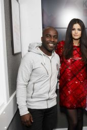 Selena Gomez Fashion - at the Kiss FM Studio in London, September 2015