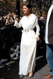 Selena Gomez Leaving Her Hotel in Paris, September 2015