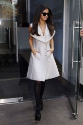 Selena Gomez - Leaving the Capital Radio Studios in London, September 2015