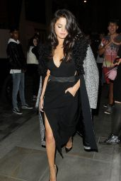 Selena Gomez - Leaving the Dorchester Hotel in London, September 2015