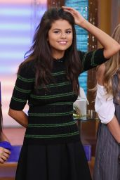 Selena Gomez on The Set Of Univisions