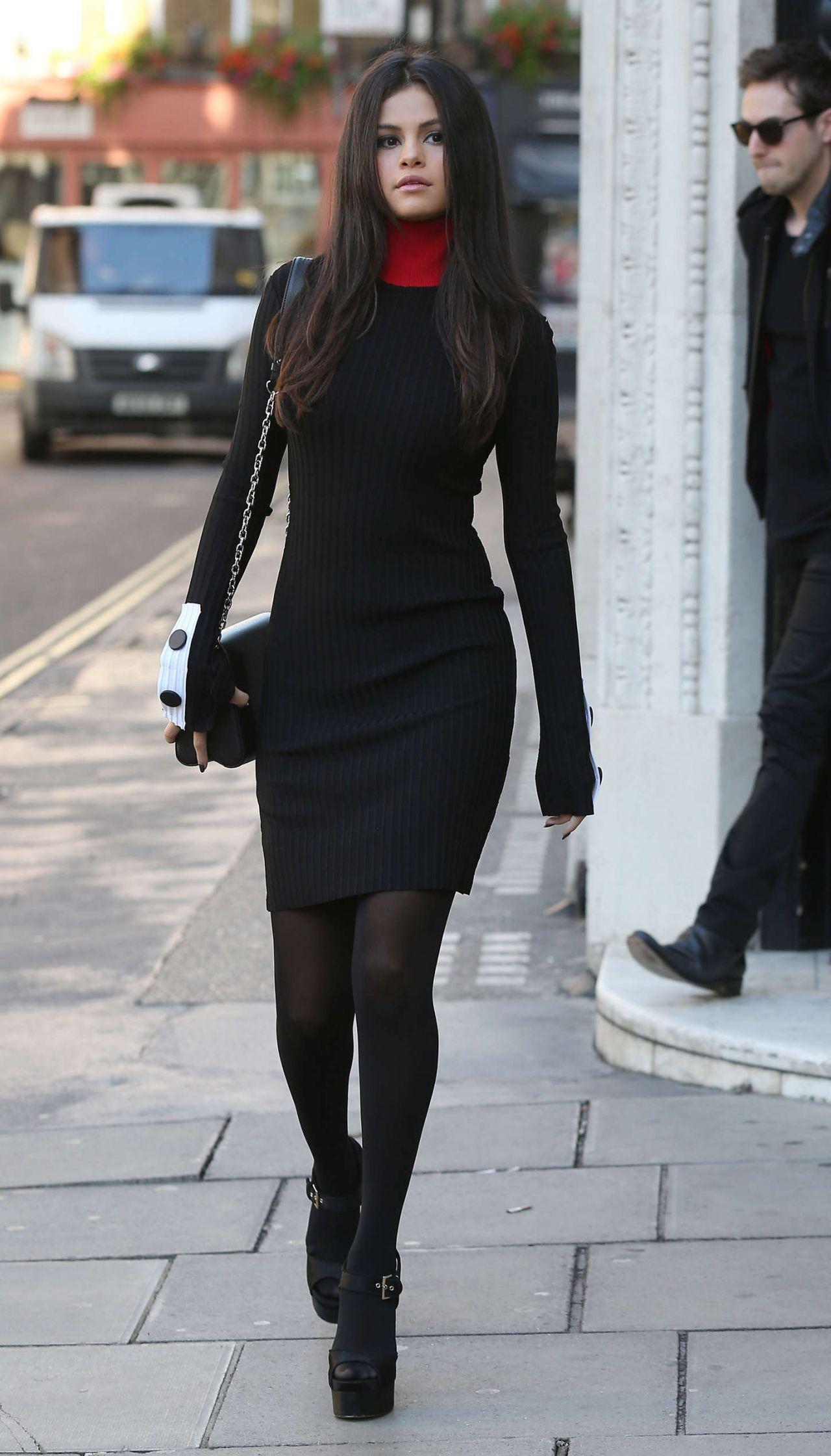 Selena Gomez Style - Leaving Kiss Fm Studios In London -4281