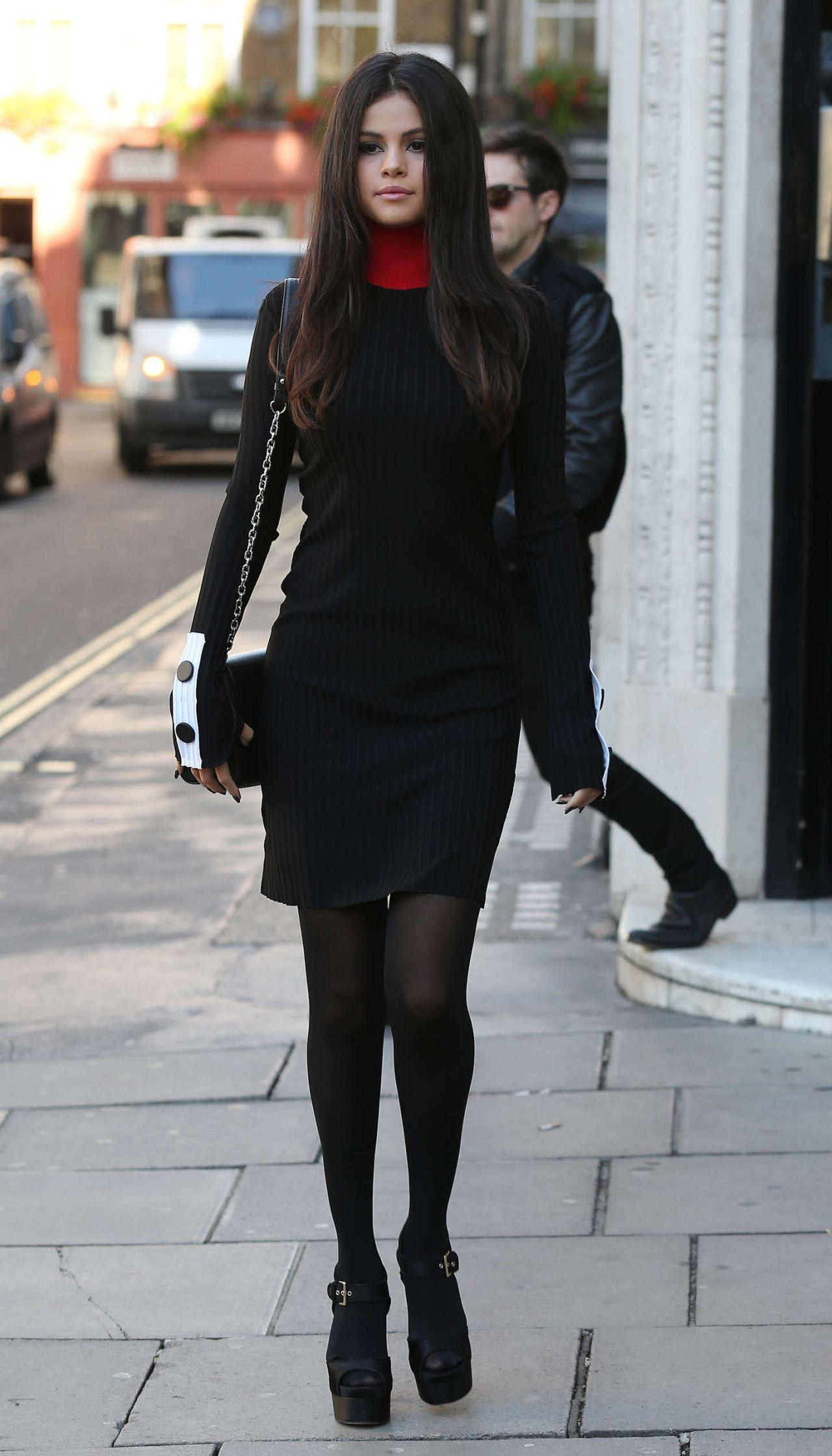 Selena Gomez Style Leaving Kiss Fm Studios In London