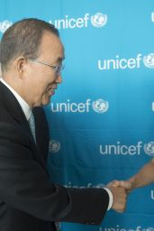 Shakira - UNICEF Event in New York City, September 2015
