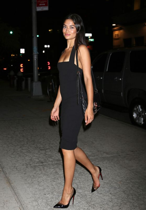 Shanina Shaik Style - Out in NYC, September 2015