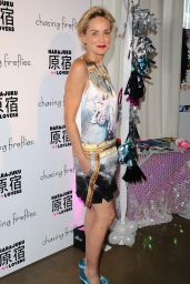 Sharon Stone - Chasing Fireflies and Gwen Stefani Present Harajuku Lovers Fall 2015 Collection in West Hollywood