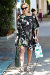 Sharon Stone - Outside The Ivy Restaurant in Los Angeles, September 2015