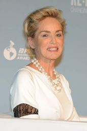 Sharon Stone - Pilosio Building Peace Award 2015 Cocktail Party in Milan