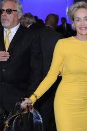 Sharon Stone Presents the Pilosio Building Peace Award 2015 in Milan