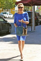 Sharon Stone Style - Out in Beverly Hills, September 2015