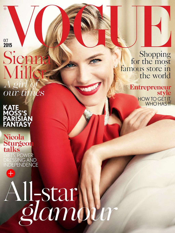 Vogue Magazine Subscription: Vogue UK Magazine October 2015 Issue