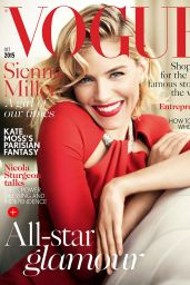 Sienna Miller - Vogue UK Magazine October 2015 Issue