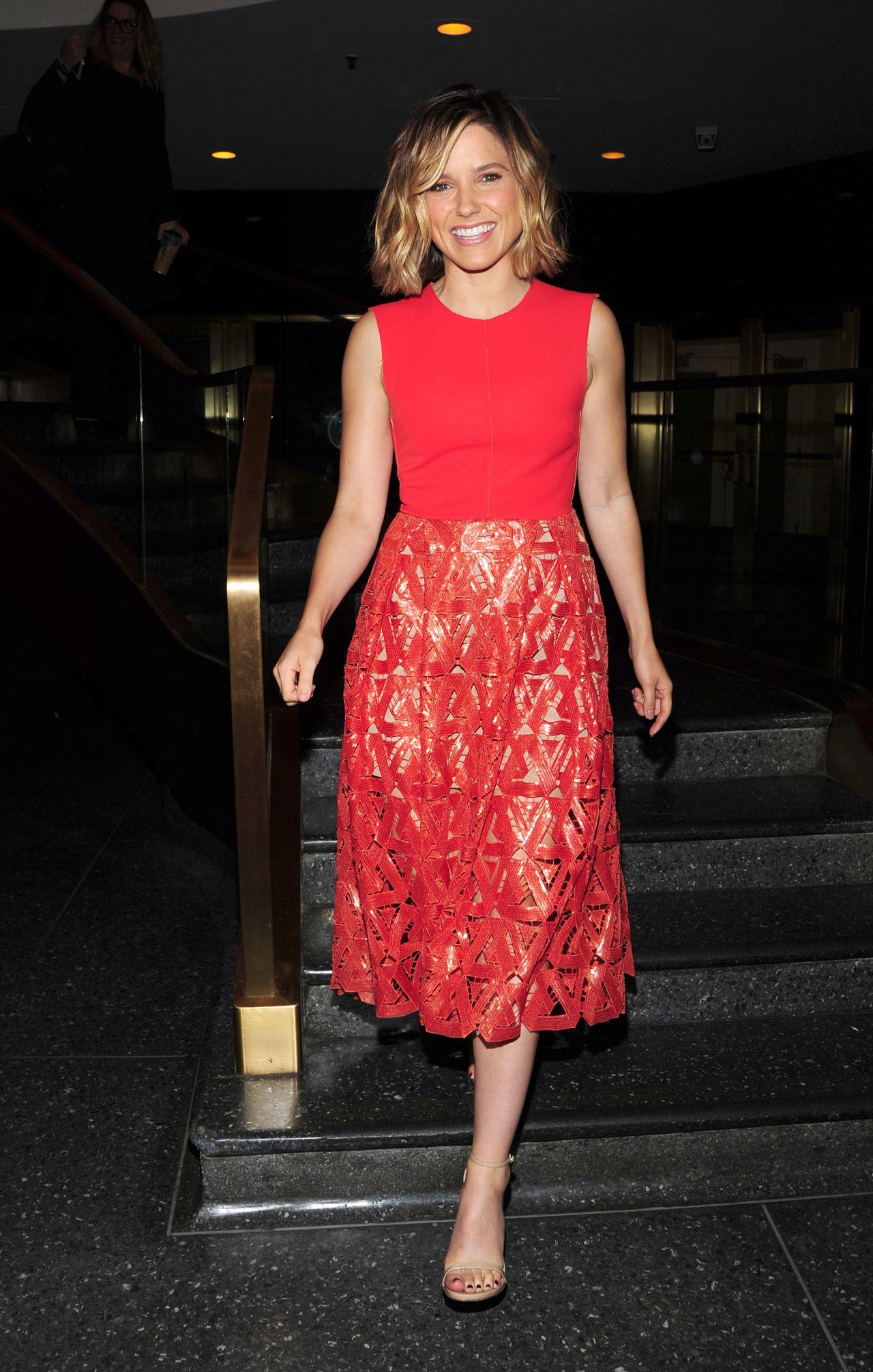 Sophia Bush At Nbc Studios In Nyc September 2015