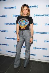 Sophia Bush at SiriusXM Studios in New York City, September 2015