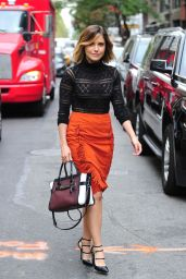 Sophia Bush Style - Leaving her hotel in NYC, September 2015