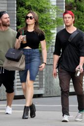 Sophie Simmons Booty in Skirt, Out and About NYC, September 2015