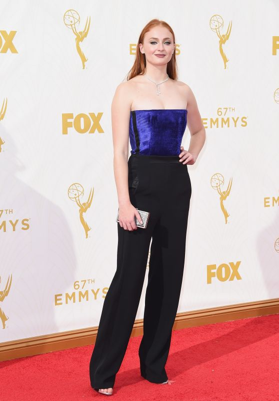 Sophie Turner – 2015 Primetime Emmy Awards in Los Angeles