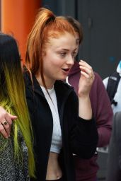 Sophie Turner at Heathrow Airport in London, September 2015
