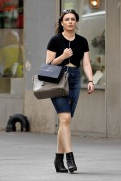 Sophie Tweed-Simmons - Shopping in New York, September 2015