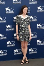 Stacy Martin – 'The Childhood Of A Leader' Photocall – 72nd Venice Film Festival