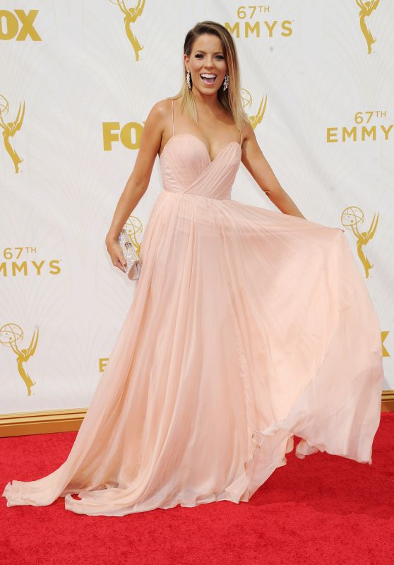 Stephanie Bauer – 2015 Primetime Emmy Awards in Los Angeles