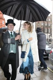 Suki Waterhouse - Arriving at Claridge