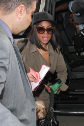 Taraji P Henson - Los Angeles International Airport, September 2015