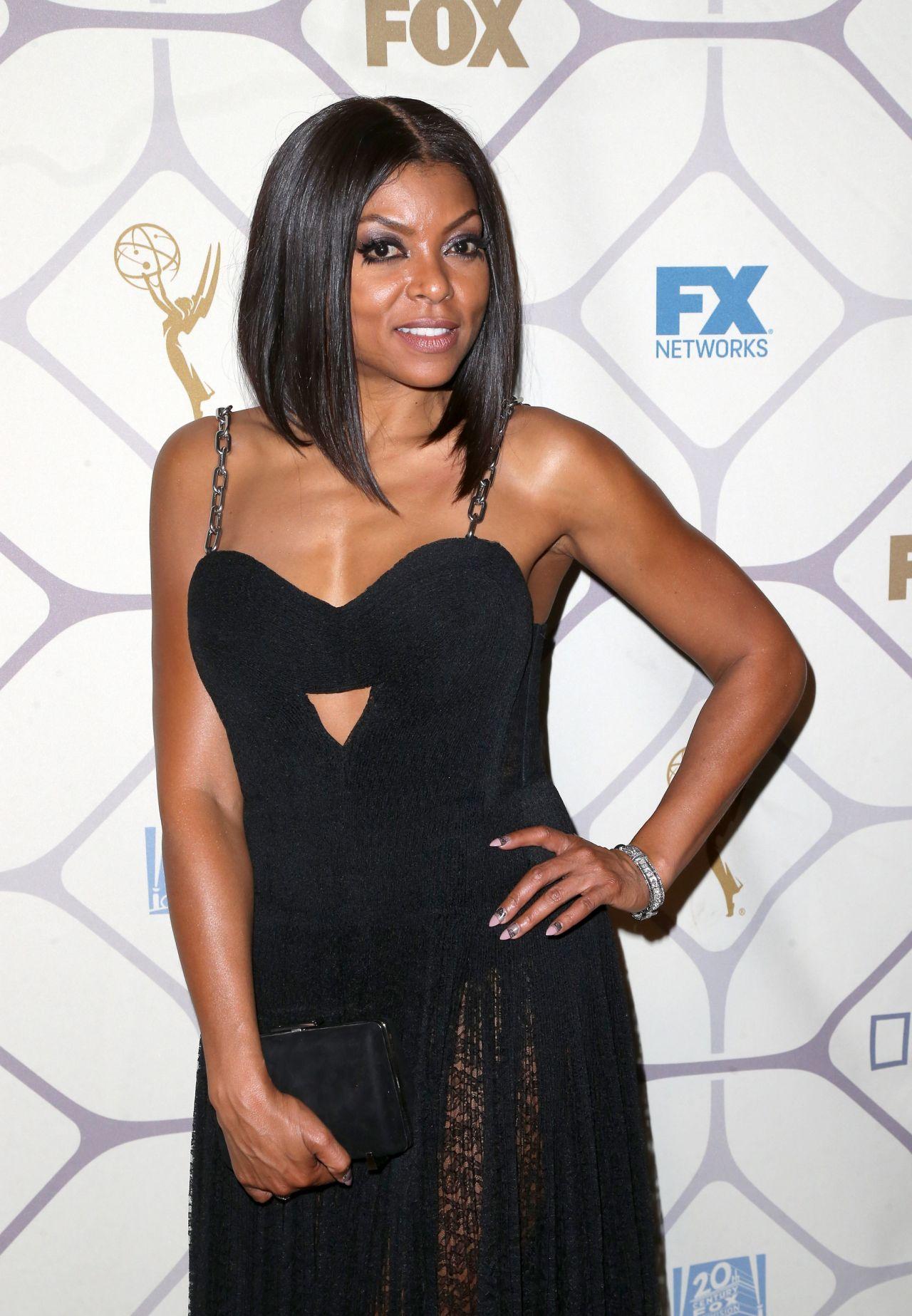 Taraji P. Henson – 2015 Primetime Emmy Awards Fox After Party in Los Angeles