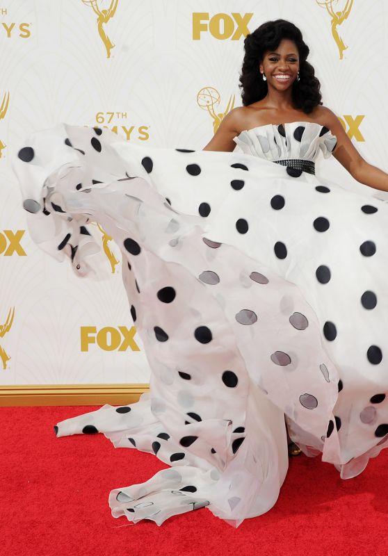 Teyonah Parris – 2015 Primetime Emmy Awards in Los Angeles