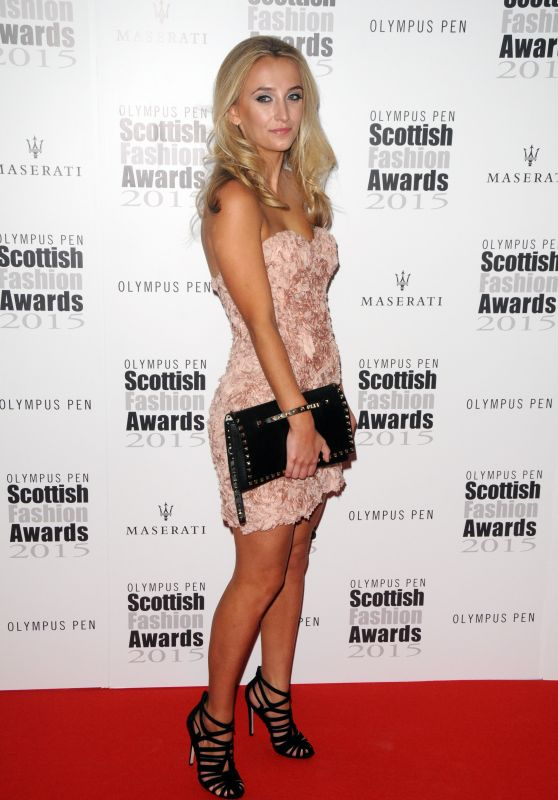 Tiffany Watson - 2015 Scottish Fashion Awards in London