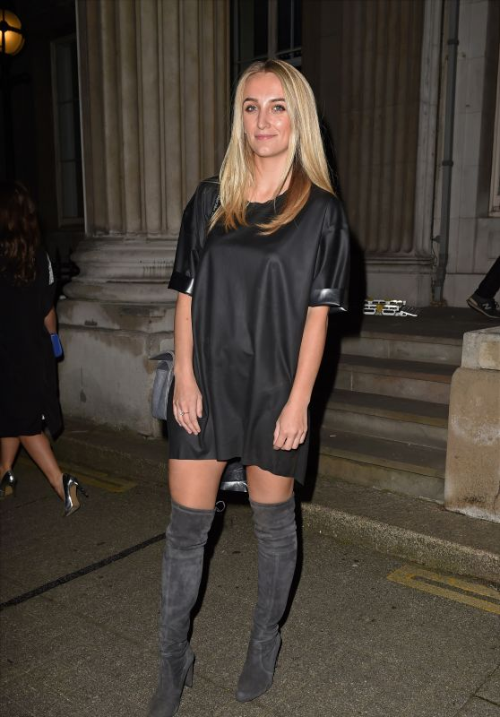 Tiffany Watson – LFW S/S 2016 Sorapol Catwalk Show Arrivals – London, September 2015