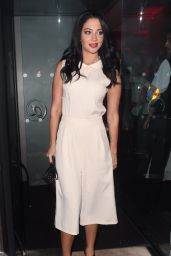 Tulisa Contostavlos - Jonathan Shalit Celebrates ROAR at 21 in London, September 2015