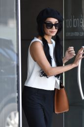 Vanessa Hudgens at Lack Nail Bar in Beverly Hills, September 2015