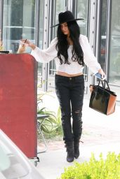 Vanessa Hudgens - Booty & Belly Chain - Los Angeles, September 2015
