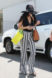 Vanessa Hudgens Casual Style - Shopping at Planet Blue in Beverly Hills, September 2015