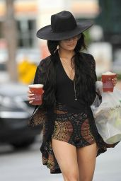 Vanessa Hudgens Leaving Tender Greens in Los Angeles, September 2015